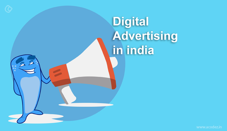 Infographics - digital advertising india - statistics and trends