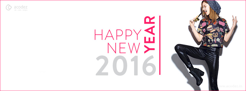 Fashion and trends - New Year Facebook Cover Photo 2016