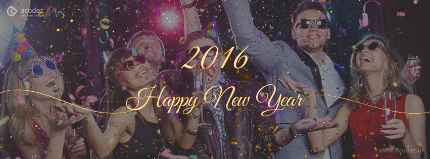Fireworks - New Year Facebook Cover Photo 2016