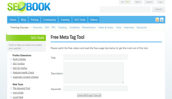 Free-Meta-Tag-Generator